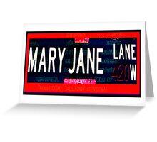 Mary Jane Lane Greeting Card