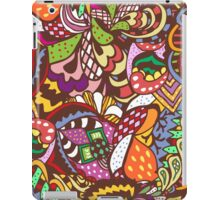 abstract colored pattern iPad Case/Skin