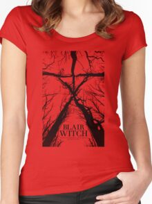 Blair Witch the movie Women's Fitted Scoop T-Shirt