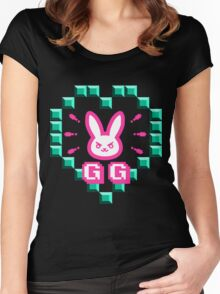 Overwatch Nerf This GG Women's Fitted Scoop T-Shirt