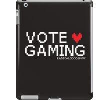 VOTE GAMING! iPad Case/Skin