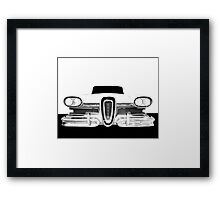 1958 Edsel Citation - High Contrast Framed Print