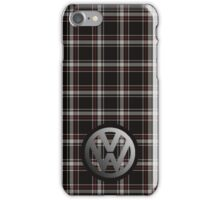 VW GTI Tartan iPhone Case/Skin