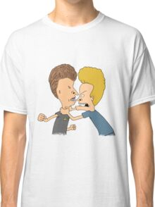 Beavis & Butthead Fighting Classic T-Shirt