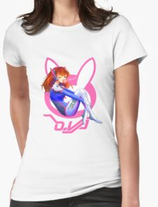 Overwatch D.Va Womens Fitted T-Shirt