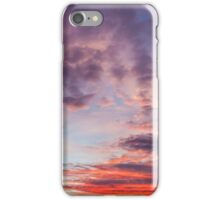 Beautiful colors sunset clouds iPhone Case/Skin