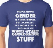 Wibbly Wobbly Gender Bender Unisex T-Shirt