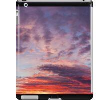 Beautiful colors sunset clouds iPad Case/Skin