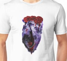 Space Heart roses Unisex T-Shirt