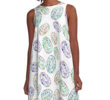 Opal - October Birthstone A-Line Dress