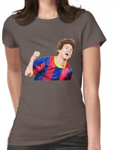 CREATING !! LEO MESSI Womens Fitted T-Shirt