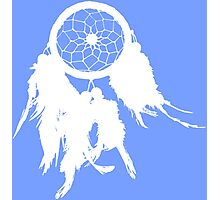 Native Dream Chatcher Silhouette Photographic Print