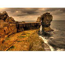 Pulpit Rock at Portland Dorset Photographic Print