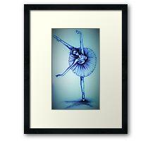ballerina magic Framed Print
