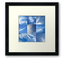 Cloud Sweep Framed Print