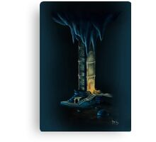 Skyrim: Tower of Mzark Canvas Print