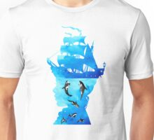 Swimming With Whales Unisex T-Shirt