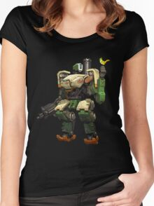 Overwatch Bastion Women's Fitted Scoop T-Shirt