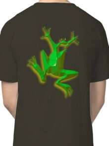 GREEN FROG, Jumping Jehoshaphat! Help! Its the Green frog! Pond life Classic T-Shirt