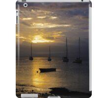 Sunset Savusavu Harbour (Portrait) iPad Case/Skin