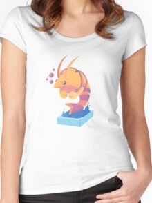 Summer Shrimp Women's Fitted Scoop T-Shirt