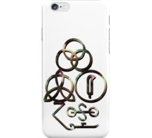 ANCIENT PAGAN SYMBOLS - AUTUMN iPhone Case/Skin