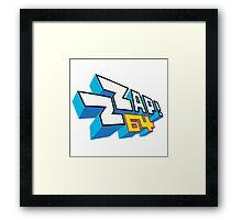 ZZAp64! Framed Print