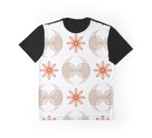 geometric flowers and forms like wings Graphic T-Shirt