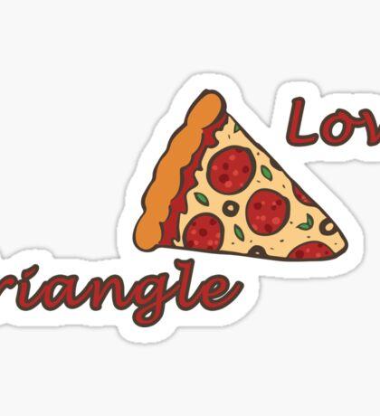 Love Triangle Sticker