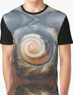 Brown snail shell spiral - 2016 Graphic T-Shirt