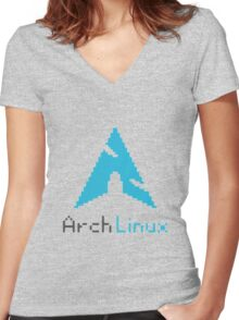 ARCH ULTIMATE Women's Fitted V-Neck T-Shirt