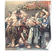 Street Fighter Alpha Poster