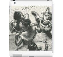 Striped dancers iPad Case/Skin