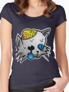 Catzombie Women's Fitted Scoop T-Shirt