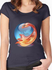 FIREFOX FAN Women's Fitted Scoop T-Shirt
