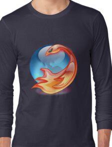 FIREFOX FAN Long Sleeve T-Shirt