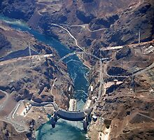 Hoover Dam Black Canyon by John Schneider