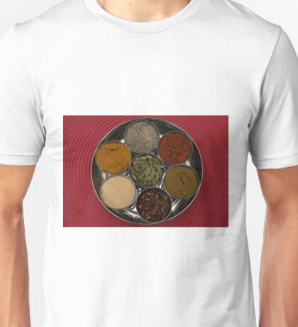 curry spices Unisex T-Shirt