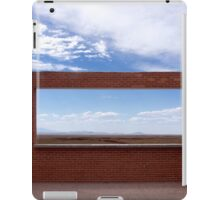 Window into the Plains iPad Case/Skin