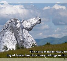Praise Series - Victory Belongs to the Lord - Proverbs 21:31 by MyArtefacts