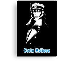 Corto Maltese hugo pratt comic retro vintage sailor venezia malta italy pirate movies tv shows Canvas Print