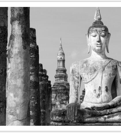 Thai Buddha III Sticker