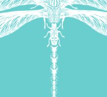 Dragonfly made of Beetles, Ants and Sycamore seed pods Sticker