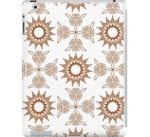 fifteen angle stars and weaving crosses iPad Case/Skin