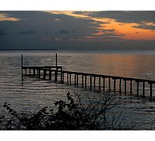 Sunrise at the Dock Photographic Print