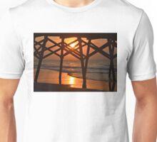 Surfside Pier Sunrise Unisex T-Shirt