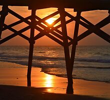 Surfside Pier Sunrise by ©Dawne M. Dunton