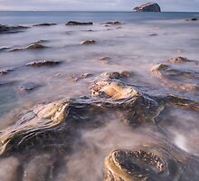 Incoming Tide - longer exposure by Christopher Cullen