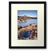 Tantallon Bay Framed Print