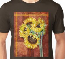 Decorative Sunflowers Unisex T-Shirt